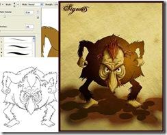 grafika i dizayn  Рисуем мультипликационных персонажей