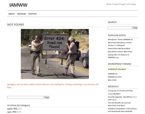 404 Error Page Example