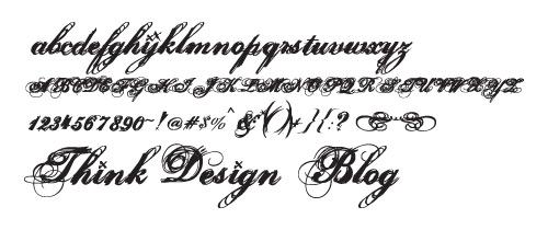 grafika i dizayn  Подборка: рукописные шрифты