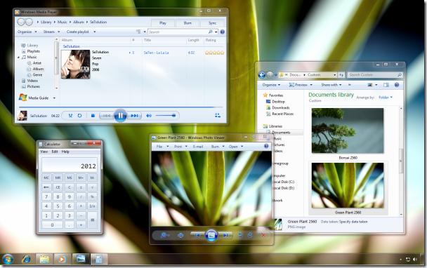 grafika i dizayn  17 бесплатных тем для Windows 7