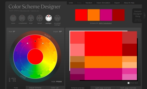 Color Scheme  Designer