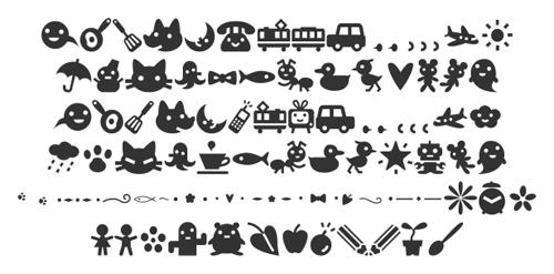 grafika i dizayn  40 символьных шрифтов