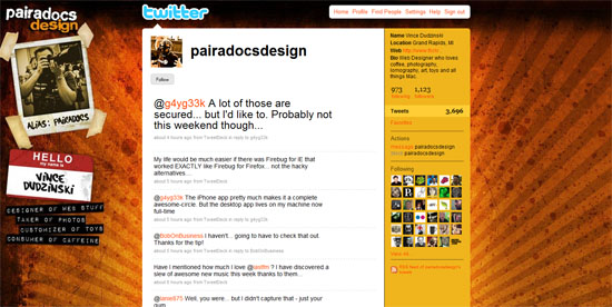 grafika i dizayn  40 примеров удачного дизайна профилей Twitter