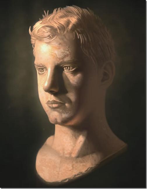 Digitally create a marble look