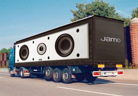 Jamo Truck Advertisement