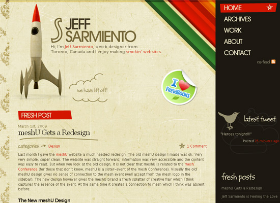Jeffery Sarmiento - screen shot.