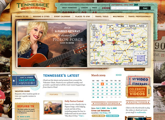 Tennesse Vacation - screen shot.