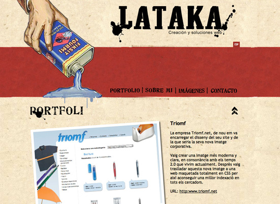 Lataka - screen shot.
