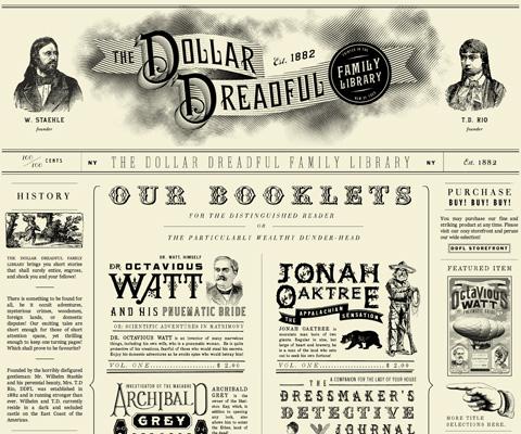 grafika i dizayn  Дизайны веб сайтов, выполненные в стилях ретро и винтаж: ч. 2