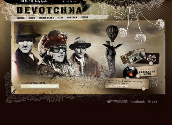 DeVotchKa - screen shot.