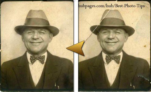 grafika i dizayn  Уроки photoshop: восстановление старых фотографий