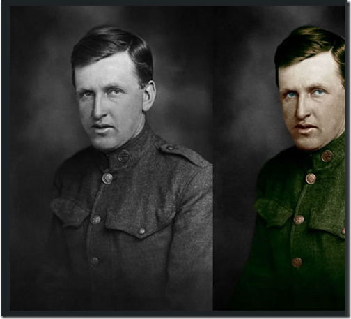 How to colorize vintage photo