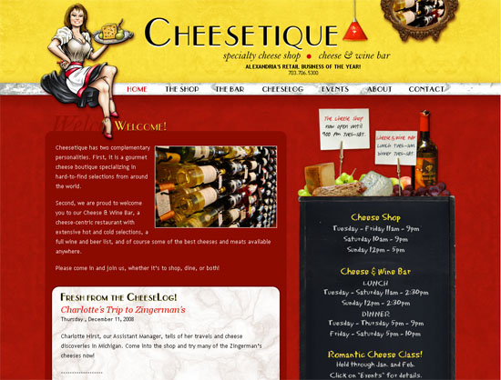 Cheesetique - screen shot.