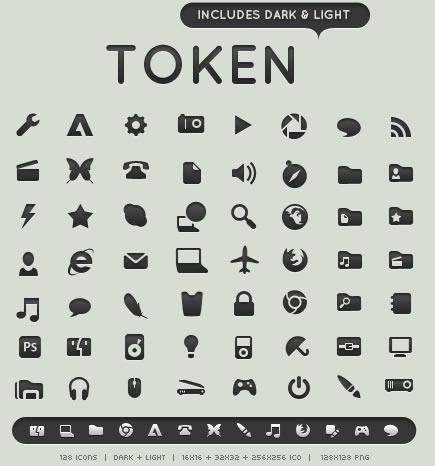 blogi  40 наборов бесплатных иконок