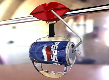 Pepsi Bus Handle Advertisement