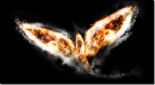 Create Abstract Style Flaming Bird in Photoshop