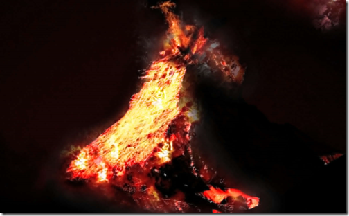 Create a Realistic Volcano Eruption Scene with Lava Effect in Photoshop