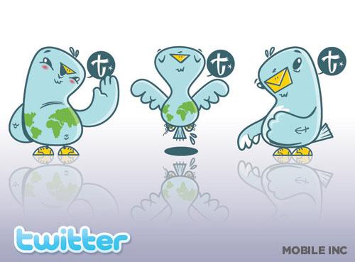 blogi  55 наборов иконок для Twitter