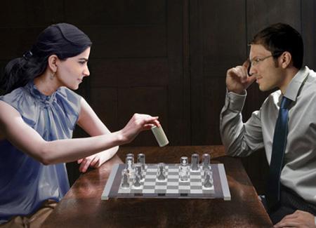 Transparent Chess Set 3
