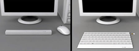 Folding Keyboard Design