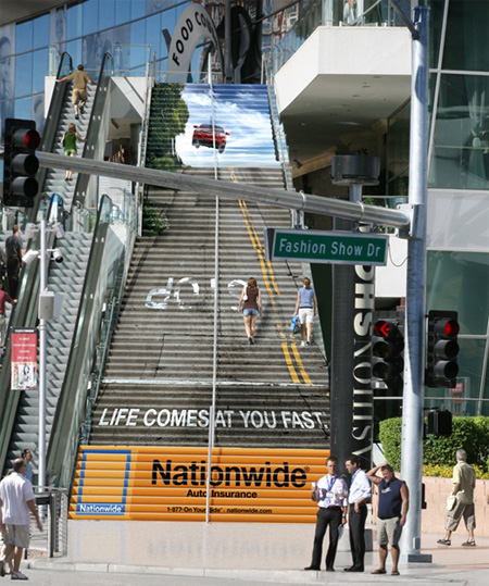 Nationwide Stairs Advertisement