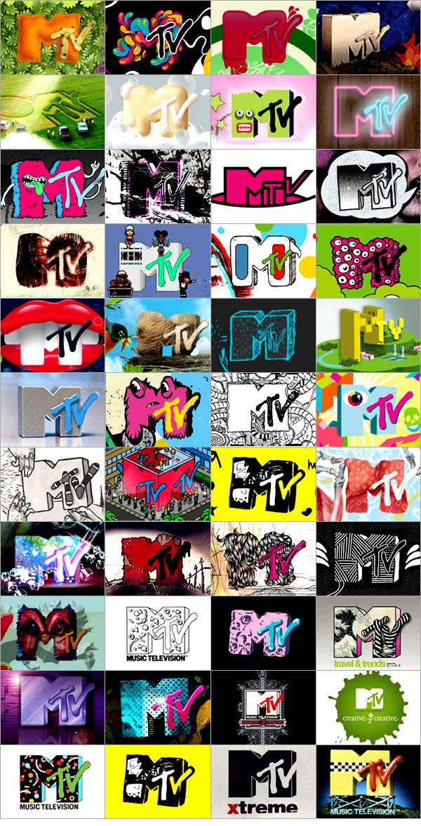 Логотипы MTV