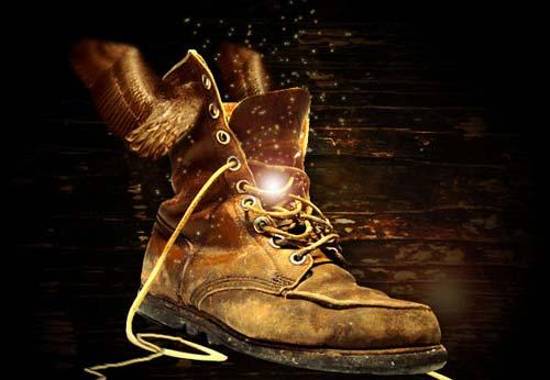 magical-golden-boot