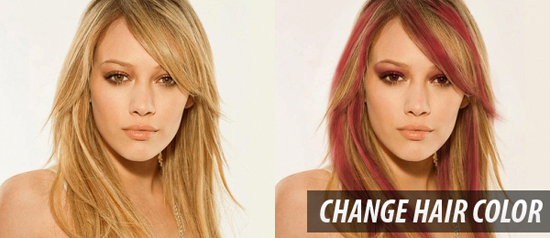 Change Hair Color Tutorial