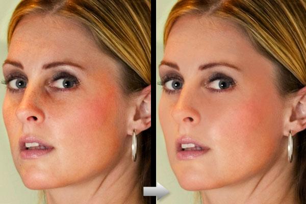 grafika i dizayn  Уроки Photoshop: ретушь портретов