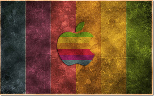 How To Create a Retro Grunge Apple Wallpaper in 5 Easy Steps in Photoshop