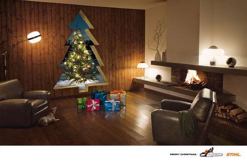 uncategorized  Рождественская реклама