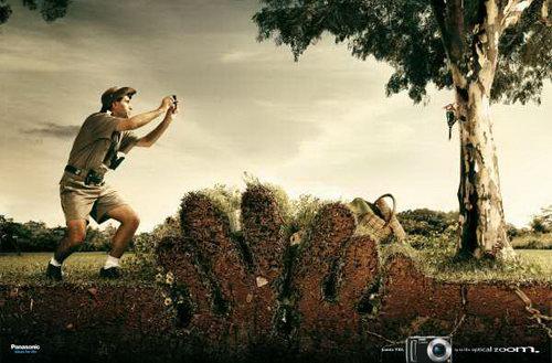 uncategorized  Креативная реклама цифровых камер