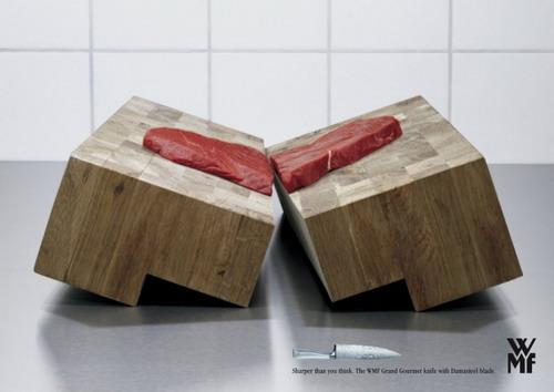 Какой резкий ваш нож может быть - Smart рекламы ножом