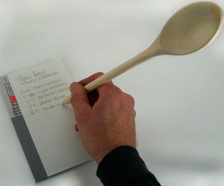 Wooden Spoon Pencil