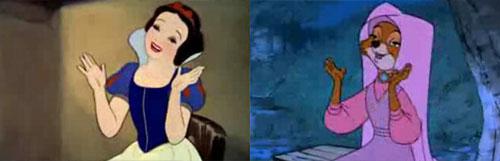 каким Disney Recycle их фильмов шаблон