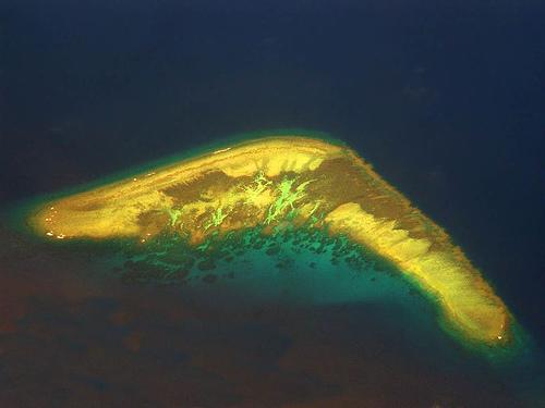 Острова в интересной форме