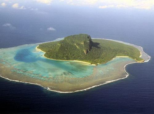 priroda  Острова необычной формы