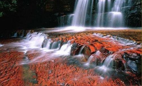 priroda  Радужная река