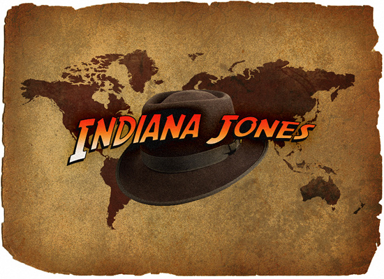 Indiana Jones Movie Text - Photoshop Tutorial