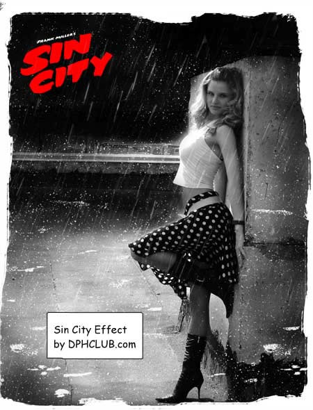 Photoshop Movie Tutorial Sin City Effect Photoshop Tutorial