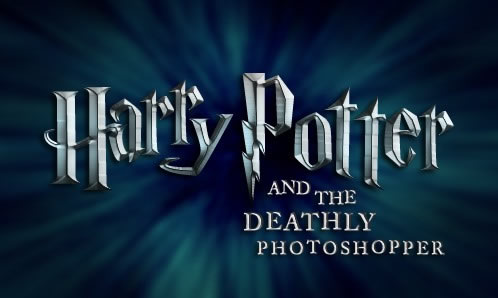 Photoshop Movie Tutorial Harry Potter Movie Font