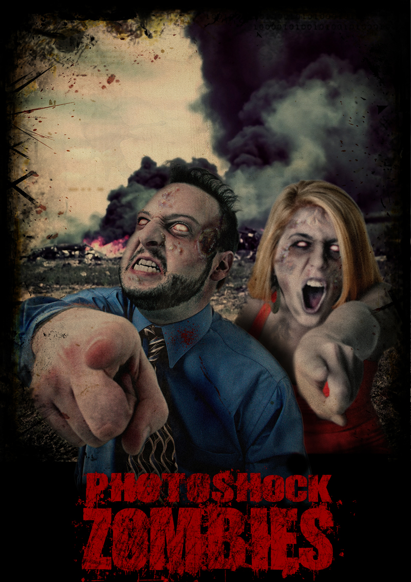 HALLOWEEN SPECIAL ZOMBIE MOVIE POSTER