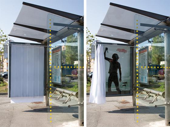 uncategorized  Реклама на автобусных остановках