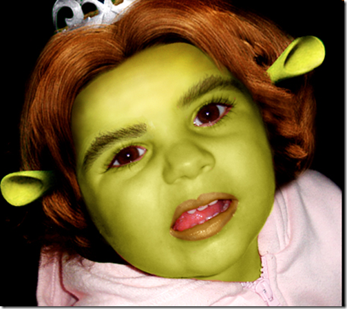 Shrek Girl Photoshop Tutorial