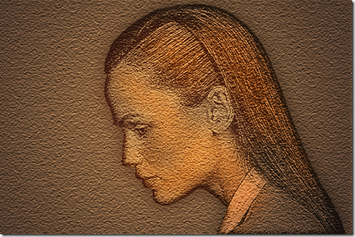 Create a Relief Etching Type Photo Effect in Photoshop