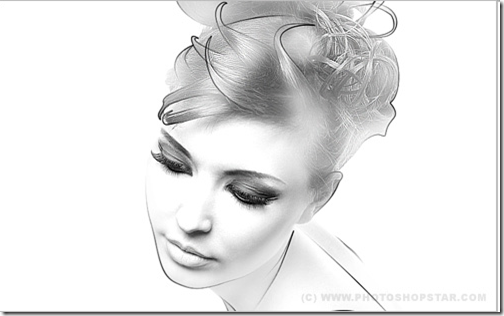 Creating Drawing Effect on the Photo