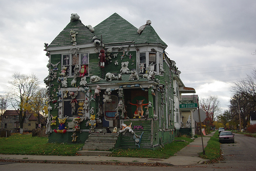 The Heidelberg Project by Wigwam Jones.