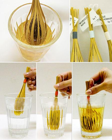 uncategorized  Фотопост: креативыне чайные пакетики, часть 2