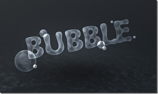 Bubble Text