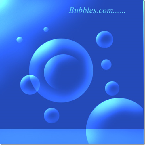 Bubbles Photoshop Tutorial